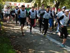Běh Borským parkem
