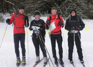 Skirogaing na Klínech